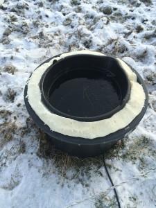 Bygga eget frostfritt vattenkar part II